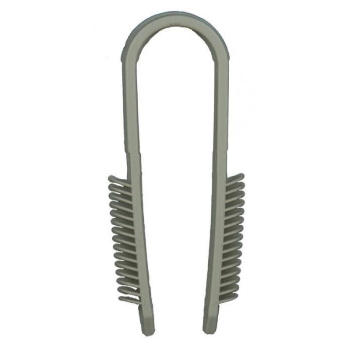 Cheville-pontets pour fixation de câbles jusqu'à 40mm de diamètre perçage à 6mm et pose manuelle boîte de 50 pièces