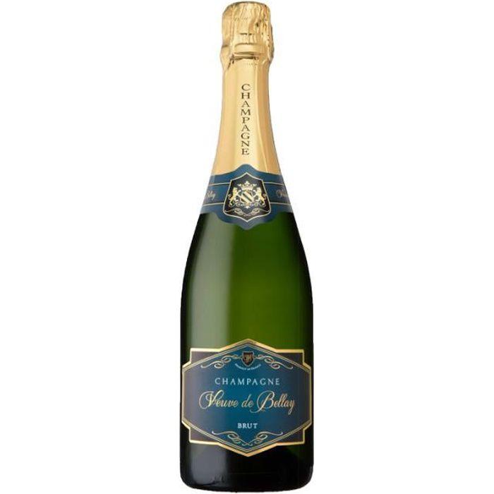 Champagne VEUVE DE BELLAY BRUT AOP CHAMPAGNE