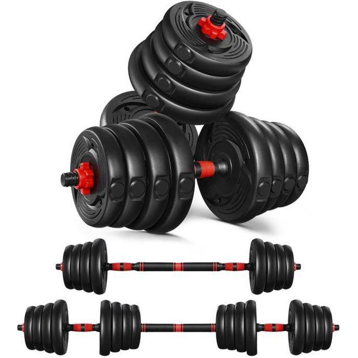 Haltères - 30kg - poids réglable Haltères Musculation