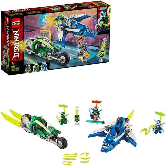 LEGO® NINJAGO® 71709 Les bolides de Jay et Lloyd