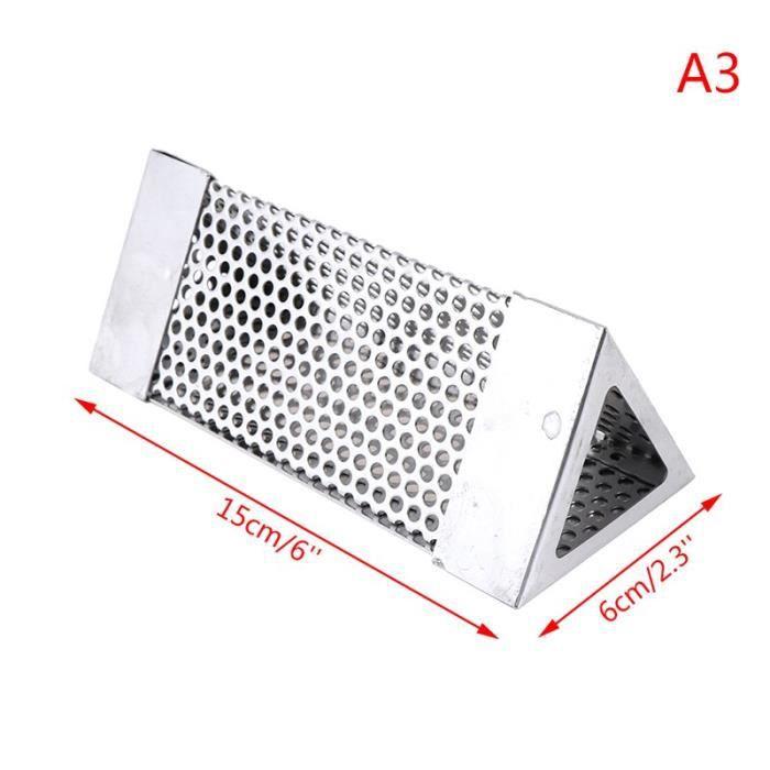 BBQ acier inoxydable accessoires mailles rond carré perforé maille fumeur Tube Barbecue gril générateur fumeur filtre ou CC3690