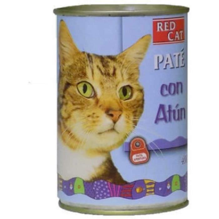 Red cat Pot Pate Avec Thon 400g Alimentation Pour Chats