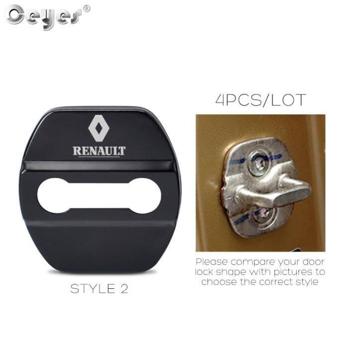 Style 2 black -Coque de protection pour voiture, accessoire de voiture, pour Renault Scenic Laguna Captur Fluence Latitude Megane 2