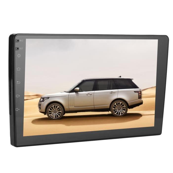 Navigation GPS, Autoradio FM de voiture, 10,1 pouces Universel Grand Écran Navigation GPS WiFi Bluetooth Radio FM Récepteur