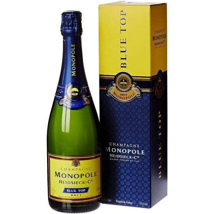 Champagne Heidsieck & C° Monopole Blue Top sous étui - 75cl