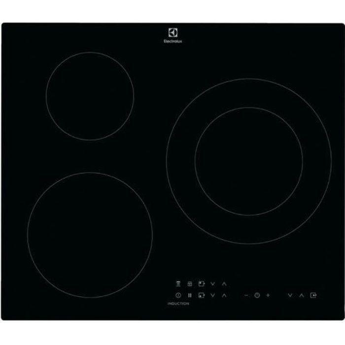 Electrolux Table induction, Intégré, Plaque avec zone à induction, Noir, 2500 W, Rond, 14,5 cm