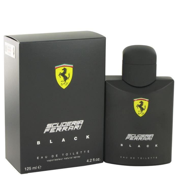 Ferrari Scuderia Black de Ferrari 125ml