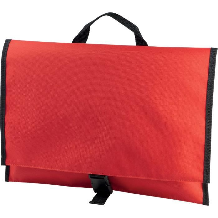 PORTE DOCUMENT (Rouge - One Size)