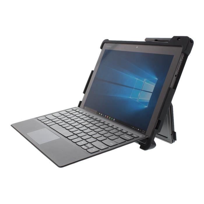 Lenovo Coque Pour tablette Pc Résistant aux chocs silicone, Plastique Abs Noir