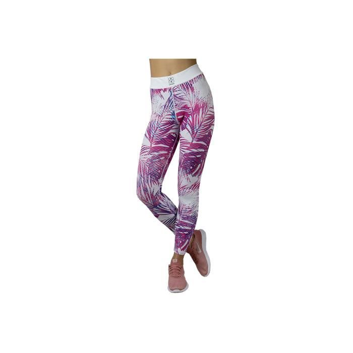GymHero Leggins LAS-PALMAS leggings pour femmes Rose