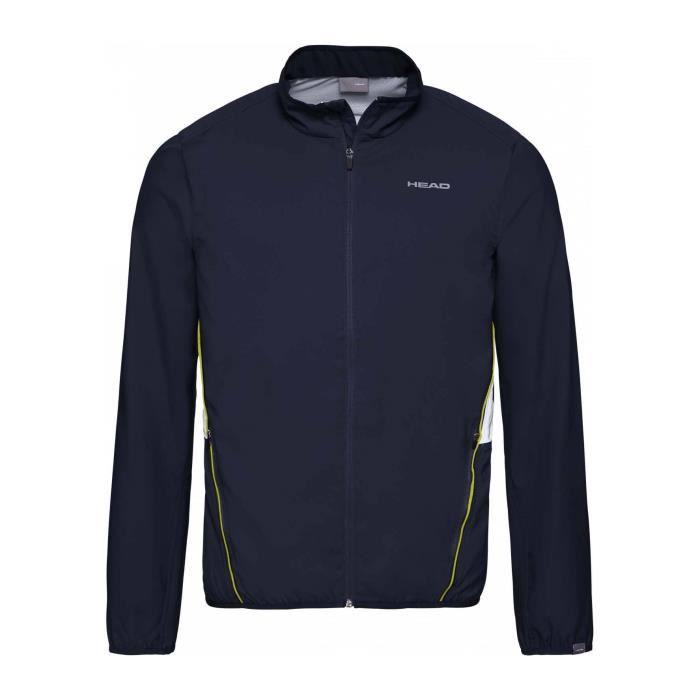 Head Club Jacket Hommes Veste tennis bleu