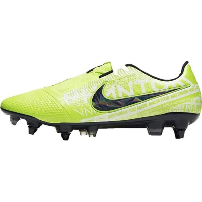 Nike Phantom Venom Elite Sg-Pro AC, Chaussures de Football Homme, Vert (Obsidian Volt 717), 41 Eu