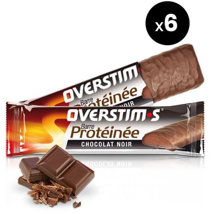 OVERSTIMS – Barre Protéinée (6 barres)