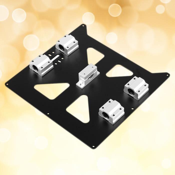 1 ensemble d'accessoires d'impression 3D de plaque chauffante en aluminium pratique pour DEODORANT CORPOREL - PIERRE D ALUN