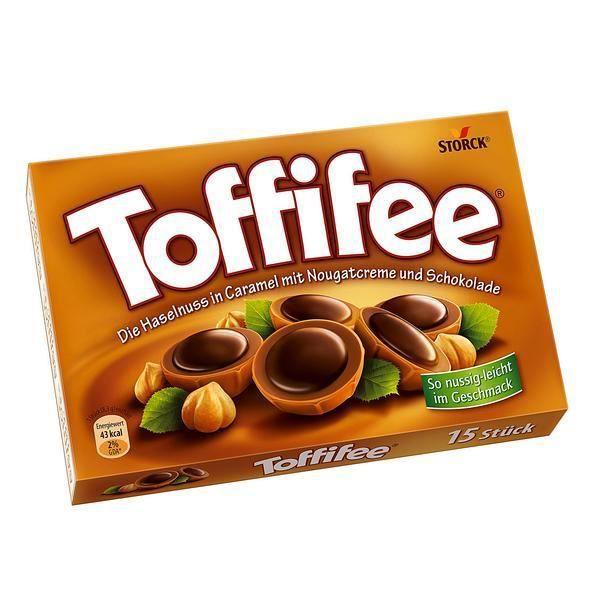 Storck Toffifee chocolat praliné 5 x 125g
