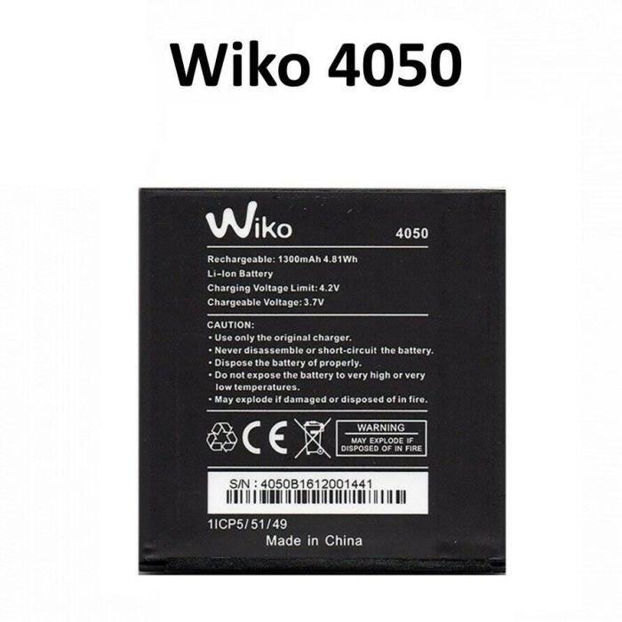 Batterie Wiko 4050 - Wiko Goa