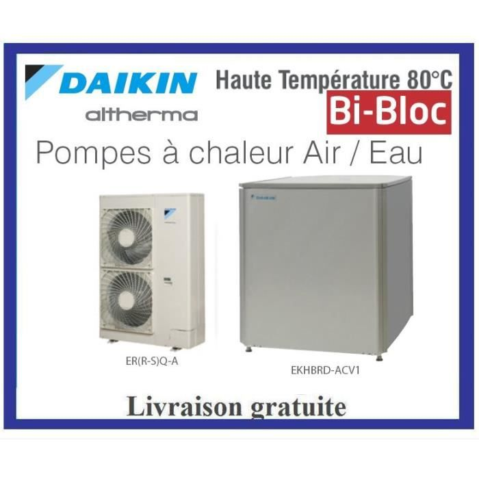 pompes chaleur daikin altherma bi bloc haute achat. Black Bedroom Furniture Sets. Home Design Ideas