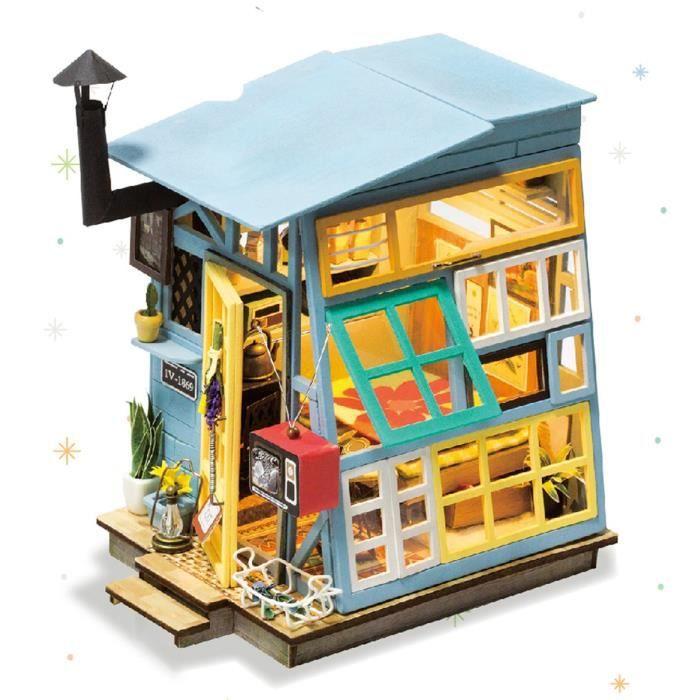 1:12 scale Pie une maison de poupées miniatures