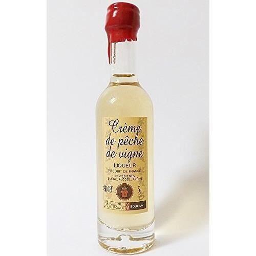 LIQUEUR creme de peche de vigne 70 cl louis roque neuf