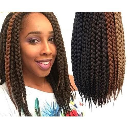 short fat jumbo box braid for crochet install like havana mambo and senegalese twist style. Black Bedroom Furniture Sets. Home Design Ideas
