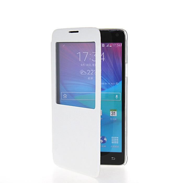Tui housse coque samsung galaxy note 4 blanc achat for Housse galaxy note 8