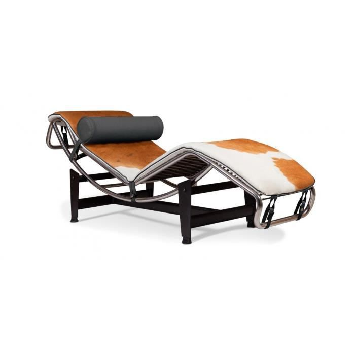 lc4 chaise longue inspir e le corbusier pony achat. Black Bedroom Furniture Sets. Home Design Ideas