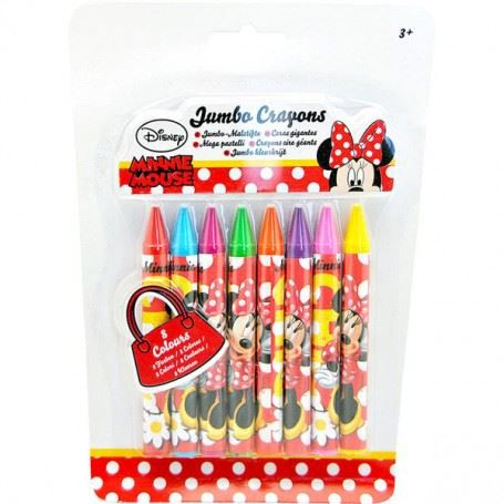 crayons de cire minnie de disney achat vente crayon de couleur crayons de cire minnie de. Black Bedroom Furniture Sets. Home Design Ideas