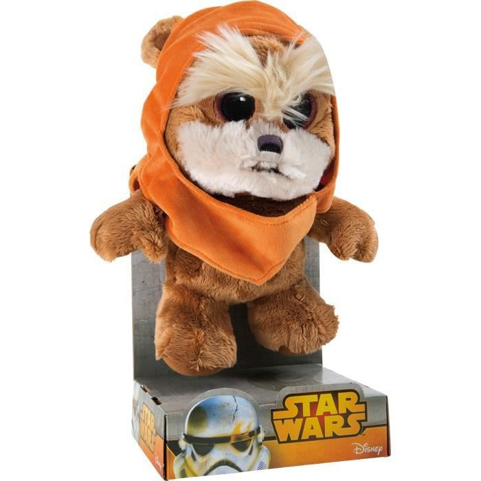 peluche star wars ewok 27 cm achat vente peluche. Black Bedroom Furniture Sets. Home Design Ideas