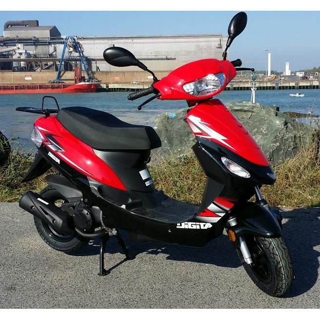 scooter neuf 50cc 2 temps longjia lj50qt2 achat vente. Black Bedroom Furniture Sets. Home Design Ideas