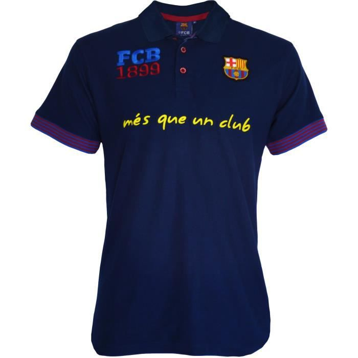 Fc Barcelone Polo Barça - Collection officielle Taille adulte homme M Vcpkkif