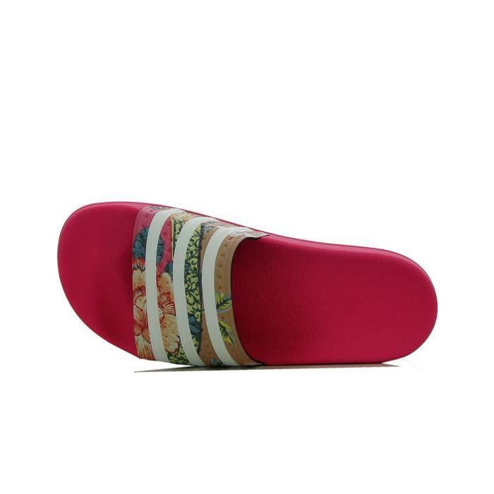 ever popular free shipping delicate colors Sandale adidas Originals Adilette - Ref. S78866 Rose - Achat ...