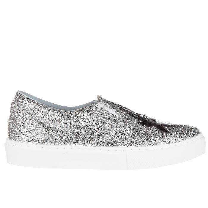 Slip on femme sneakers flirting Chiara Ferragni