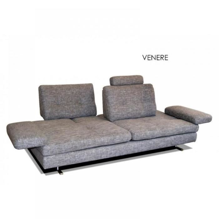 Canap extensible convertible 3 5 places serena d achat for Canape 5 place convertible