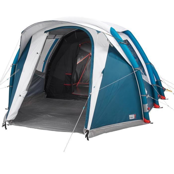 Tente Gonflable De Camping Air Seconds 4 1 F B 4 Personnes 1 Chambre Quechua By Decathlon Prix Pas Cher Cdiscount