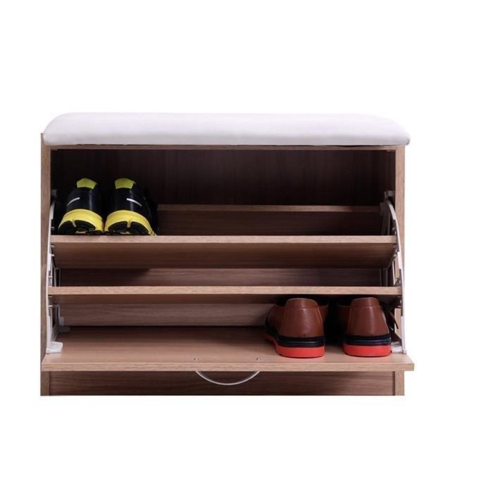 meuble coffre rangement chaussures fonction banc achat. Black Bedroom Furniture Sets. Home Design Ideas