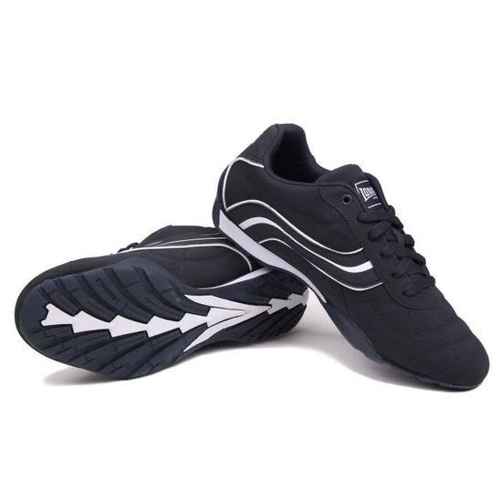 Lonsdale Camden Baskets Homme Noir//Bleu Décontracté Baskets Chaussures Chaussures