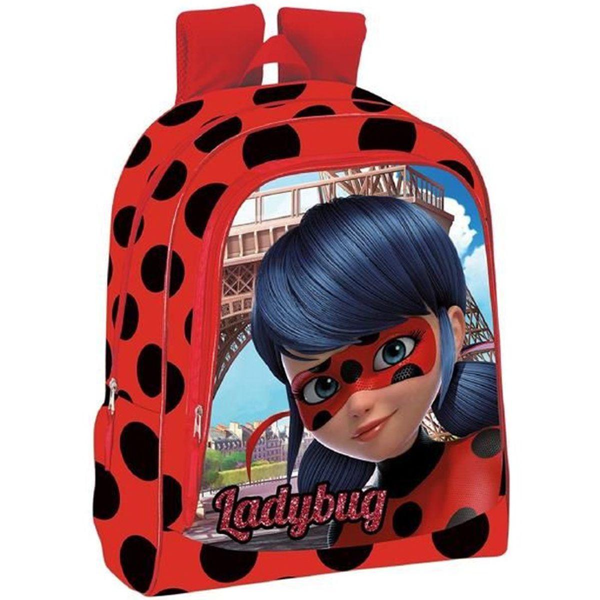 Ladybug Sac /à dos Miraculous borne primaire avec la fameuse