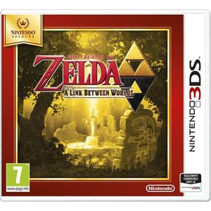 JEU 3DS The Legend Of Zelda: A Link Between Worlds Jeu Sel