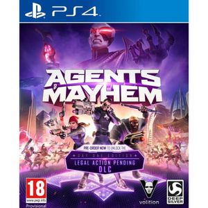 JEU PS4 Agents Of Mayhem Day One Edition Jeu PS4