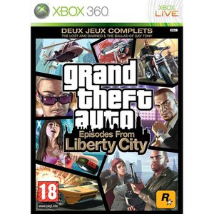 JEUX XBOX 360 GTA IV: Episodes from Liberty City XBOX 360