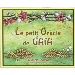 LIVRE PARANORMAL Le petit oracle de Gaïa