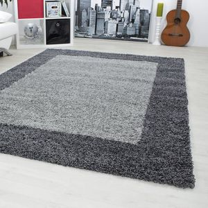 tapis poil long gris achat vente tapis poil long gris pas cher cdiscount. Black Bedroom Furniture Sets. Home Design Ideas
