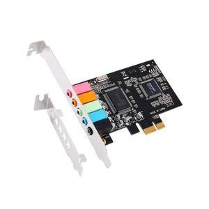 CARTE MÈRE PCI Express x1 PCI-E 5.1 Audio Numérique Carte Son