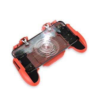 MANETTE JEUX VIDÉO H5 manette de jeu orange avec ventilateur de radia
