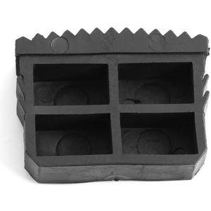 Pack de 4-84 mm x 22 mm remplacement caoutchouc étape échelle sécurité pieds