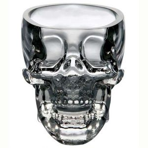 VERRE A DIGESTIF crystal skull head vodka, whisky verre coupe maiso
