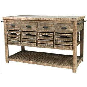 DESSERTE - BILLOT Meuble Billot Ilôt Central Bahut Buffet Console Ta