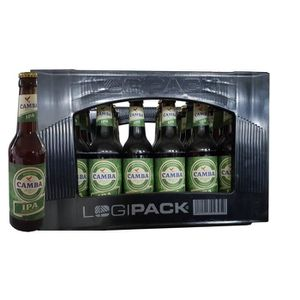 BIÈRE 24 x Camba bière pleine fermentée IPA 0,33L 6,6 %