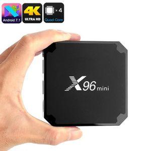 BOX MULTIMEDIA X96 Mini TV Box, U-HD 4K, Quad-Core, Support 3D, A