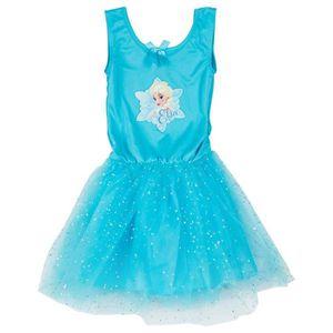 DÉGUISEMENT - PANOPLIE Robe reine des neiges bleue 7/8 ans Autres Bleu